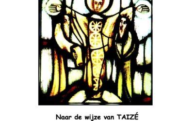 10 jan 2021 Taizé viering